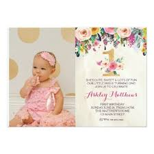 222 best 1st birthday invitations images on pinterest 1st