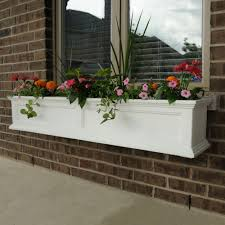 Wall Mount Planter by Window Boxes Pots U0026 Planters The Home Depot