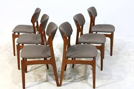 teak dining chairs by erik buch for oddense maskinsnedkeri a s