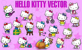 kitty vector free vector adobe illustrator ai ai
