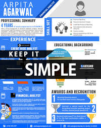 Infographic Resumes Awesome Infographic Resume For Job Success