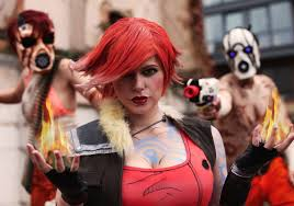 Borderlands 2 Halloween Costumes Chrix Design Lilith Borderlands 2 Cosplay