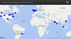World Regions Map by Azure Region Interactive Map U2013 Build Azure