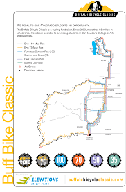 Map Buffalo Buff Epic The Elevations Credit Union Buffalo Bicycle Classic