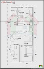 small duplex floor plans 750 sq ft house plan and elevation architecture kerala