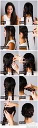9 step by step beautiful hairstyles all for fashion design