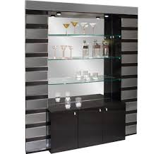 Bar Mirror With Shelves by Modern Home And Office Furniture Store Mera Black Lacquer Gray