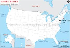 usa states map rhode island where is rhode island location of rhode island