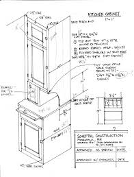 Kitchen Cabinet Drawings Simple Kitchen Drawing