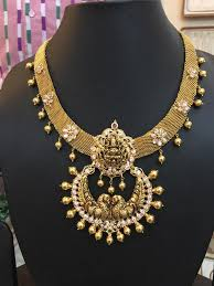 boutique designer jewellery nakshi broad mesh chain with pendant boutiquedesignerjewellery