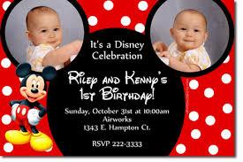 mickey mouse birthday party invitation template u2013 orderecigsjuice info