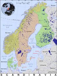 Scandinavia Map Scandinavia Public Domain Maps By Pat The Free Open Source