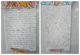 a paragraph about thanksgiving thankful things writing activity sunny days in second grade