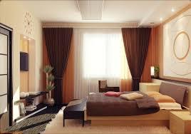 tapis de chambre adulte decoration rideaux chambre adulte marron voilages blanc orange