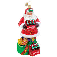 image detail for christopher radko ornaments coke gift