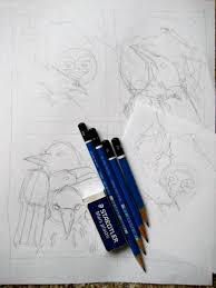 the meaning of ravens and frogs art with heart drawing