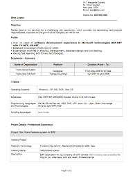Best Resume Format For Experienced Software Engineers by Best Resume Samples For Software Engineers Resume For Your Job