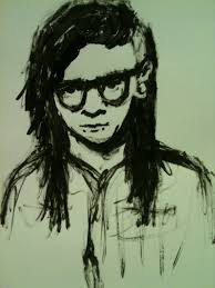 skrillex painting by lovefrommandy on deviantart