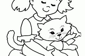 tag pictures cute cats color cute cat coloring pages
