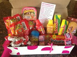 Mexican Gift Basket Mexican Candy Box Review Subscription Box Ramblings
