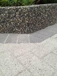 Exposed Aggregate Patio Stones Concrete U0026 Brick Sealing Driveways Sidewalks Patios Paving Stones