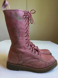 dr martens womens boots size 9 best doc dr martens butterfly pink leather boots