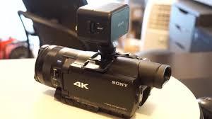 sony hvl le1 handycam camcorder light hvl leir1 the sony ir led battery powered light review youtube
