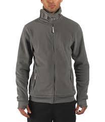 bench core funnel neck fleece in gray for men lyst