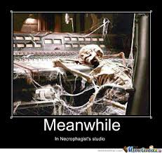 Studio Memes - meanwhile in necrophagist s studio by theangelofvengeance meme center
