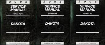 2005 dodge dakota wiring diagram manual original