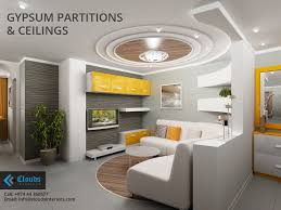 gypsum partitions u0026 ceilings in doha qatar from clouds interiors