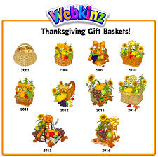 thanksgiving gift basket gallery wkn webkinz newz
