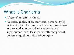 how to be charismatic pmi session