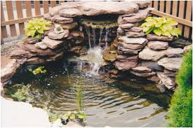Small Backyard Water Feature Ideas Backyards Ergonomic Waterfall Backyard Waterfall Garden Designs