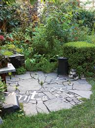 Slate Rock Patio by Patio Ideas And Designs Sunset