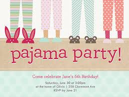 pajama invitations reduxsquad