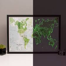 glow in the dark poster glow in the dark star map poster constellations are illuminated