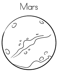 planet coloring pages mars coloringstar