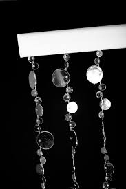 Shopwildthings Com Coupon by Amazon Com Shopwildthings Beaded Curtain Bubbles Silver Metallic