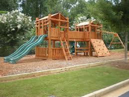 wonderful wooden backyard playsets photo gallery image and wallpaper