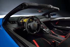 lamborghini aventador interior lamborghini aventador sv roadster unveiled at the quail will cost