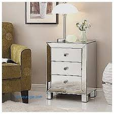 Silver Mirrored Nightstand Storage Benches And Nightstands Unique Mirrored End Tables