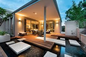 Backyard Tiles Ideas Outdoor Deck Roof Ideas Deck Contemporary With Medium Size
