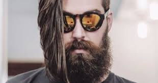 wedge one side longer hair 10 perfect long hairstyles with a short beard