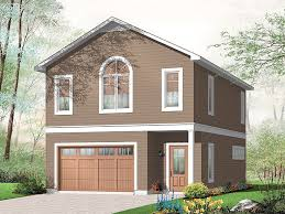 Garage Apartment Plans Carriage House Plan With Car Garage - Garage designs with apartments
