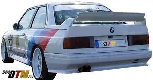 Bmw E30 Rear Valance Dtm Fiber Werkz Bmw E30 E36 M3 Style Rear Bumper Frp