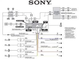 sony radio wiring diagram sony wiring diagrams instruction