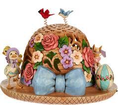 easter bonnet jim shore heartwood creek lit easter bonnet figurine page 1