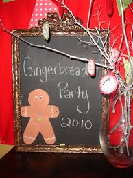 house party ideas gingerbread house party