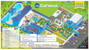 Florida Gulf Beaches Map by Show Schedule U2013 Gulf World Marine Park